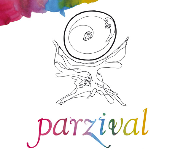 Image of grail by Ljoba jenče for Parzival Symposium in Slovenia, Ptuj